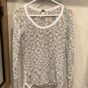 Free People open weave light weight sweater